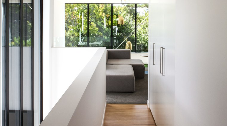 Modernist design by Box Living architects architecture, floor, house, interior design, real estate, white