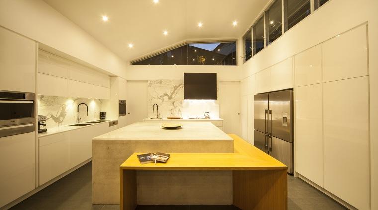Contemporary kitchens – Hettich Endorsed Showrooms architecture, cabinetry, ceiling, countertop, cuisine classique, interior design, kitchen, real estate, room, under cabinet lighting, orange, brown