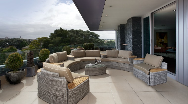 The Bermuda Suite of outdoor furniture from Top estate, furniture, interior design, living room, patio, property, real estate, gray