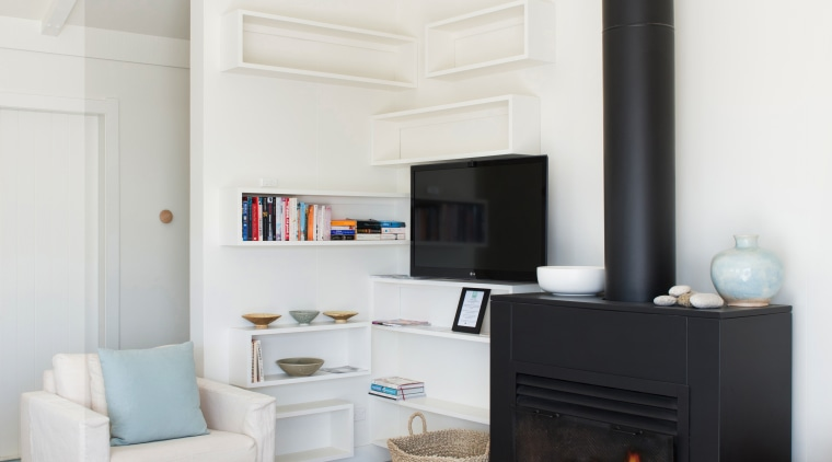 Built from quality materials, Warmington fires offer high hearth, home, home appliance, interior design, living room, room, wood burning stove, white