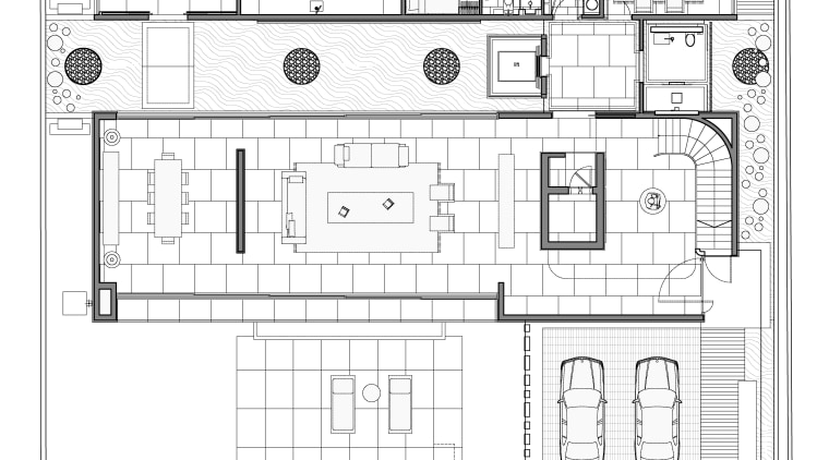 The layout optimises space and privacy. architecture, area, black and white, design, drawing, elevation, floor plan, home, line, line art, plan, product design, structure, technical drawing, text, white