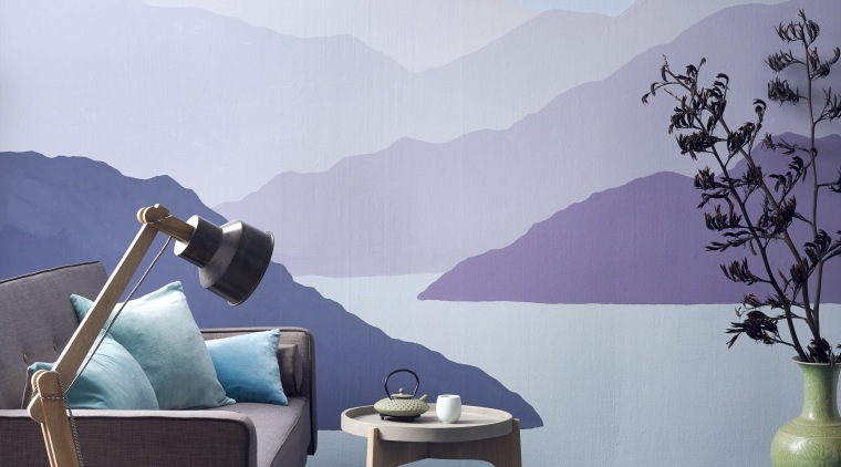 Creating a wall mural like this is easy. blue, leisure, sky, teal