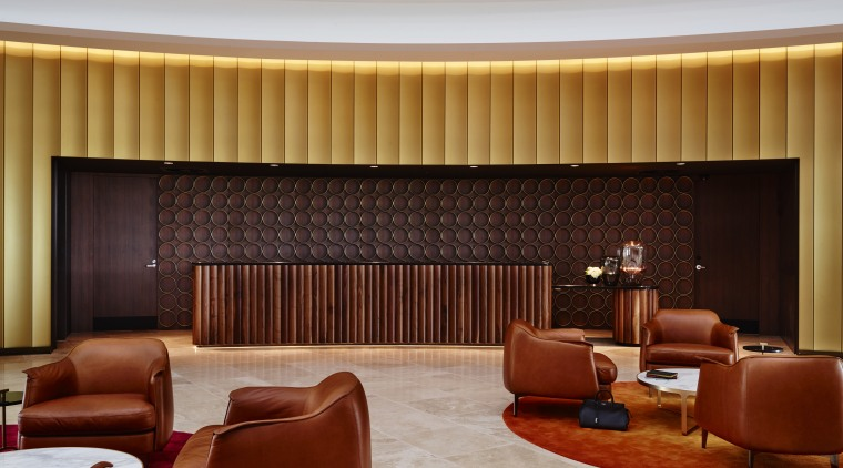 The Canberra Airport Hotel's functional requirements are all ceiling, interior design, living room, lobby, room, theatre, wall, red