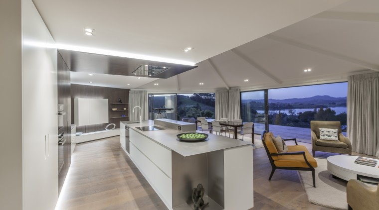 Designer Celia Visser creates projects for clients who interior design, kitchen, property, real estate, gray