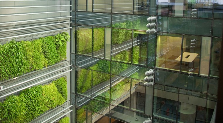 High-profile businesses benefit from a cleaner indoor environment architecture, glass, window, brown