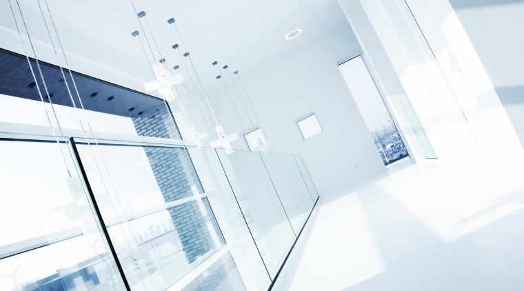 A safe solution for every situation – advanced architecture, daylighting, daytime, glass, line, product, product design, white