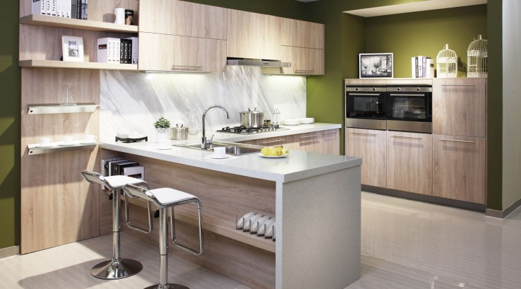 With an appliance for every home, every decor cabinetry, countertop, cuisine classique, furniture, interior design, kitchen, gray