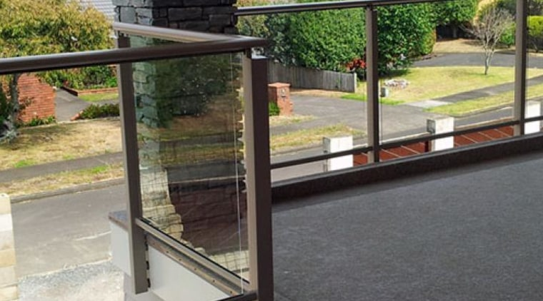 Balustrades glass, handrail, iron, window, black