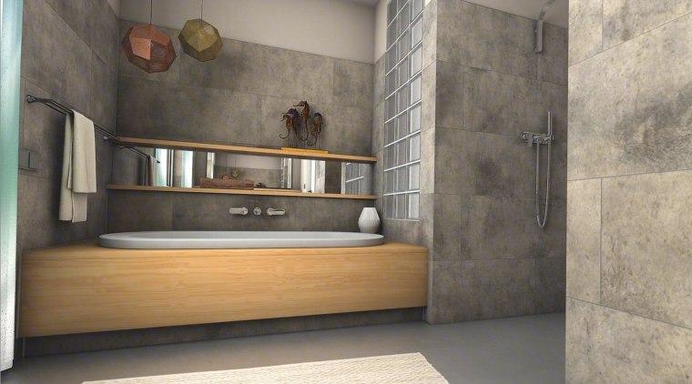 Ceramin Vario floor, flooring, interior design, tile, wall, gray
