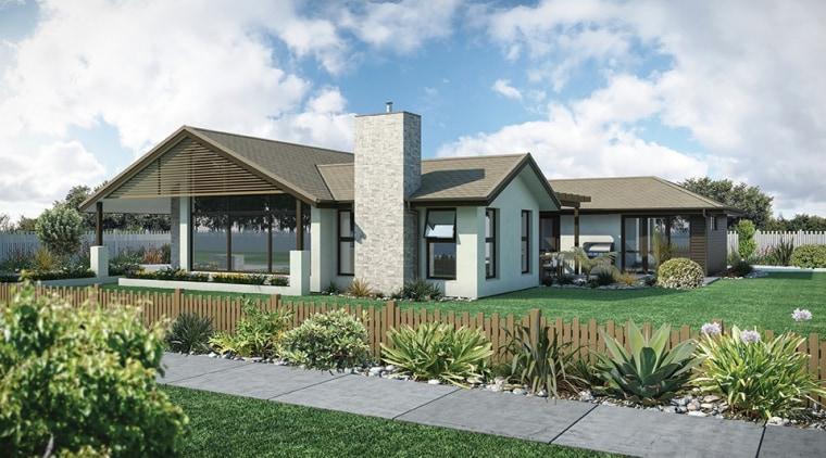 Byron platinum cottage, elevation, estate, facade, farmhouse, home, house, landscape, property, real estate, residential area, white