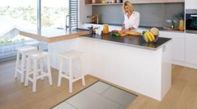 Flooring countertop, floor, flooring, furniture, hardwood, interior design, kitchen, laminate flooring, real estate, room, table, wood flooring, white