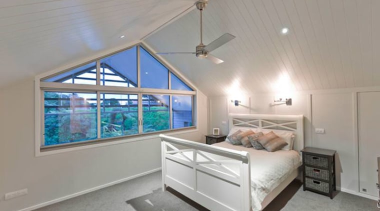 Innerior bedroom, ceiling, daylighting, estate, home, interior design, property, real estate, room, window, gray