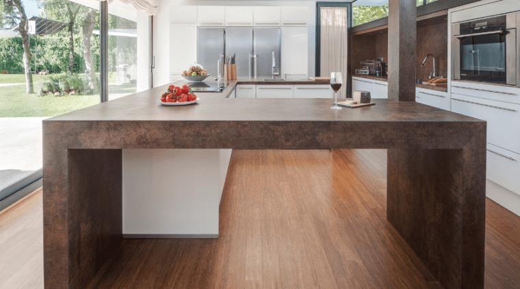 Screen Shot 2018 06 13 At 2 56 countertop, floor, flooring, hardwood, interior design, kitchen, laminate flooring, real estate, table, wood, wood flooring, white