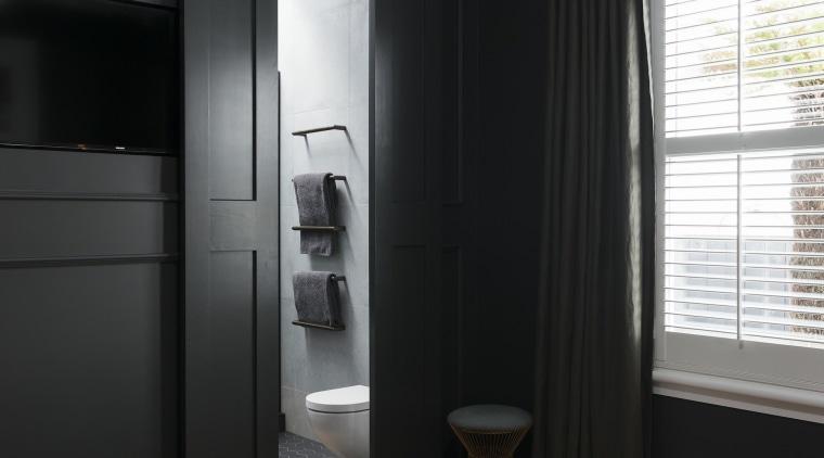 Caro Design architecture, ceiling, interior design, room, window, black, gray