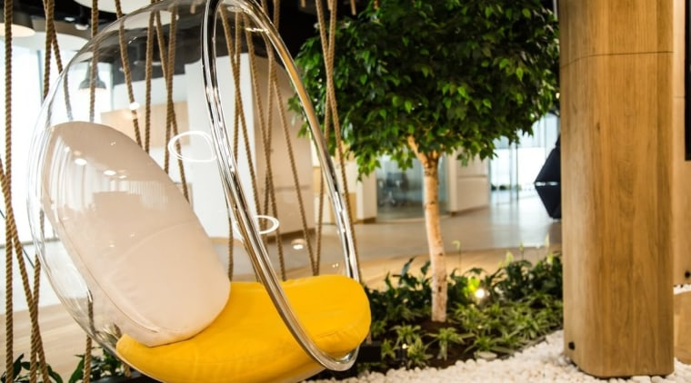 Smart Dubai chair, furniture, interior design, product design, yellow, brown, orange