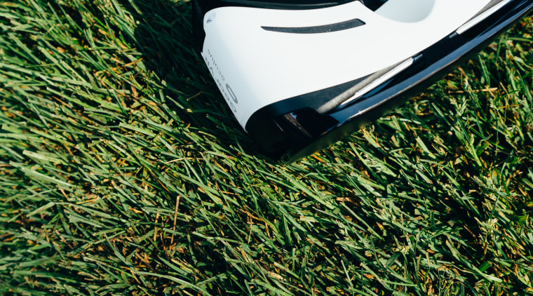 Virtual reality and augmented reality are primed to automotive exterior, grass, grass family, green, lawn, plant, green, black