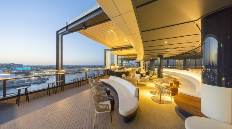 161 Sussex St – Cox Architecture apartment, boat, deck, interior design, luxury yacht, penthouse apartment, real estate, yacht, brown