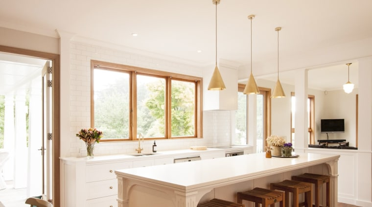 TIDA NZ 2017 – Designer kitchen entrant – ceiling, countertop, cuisine classique, estate, floor, home, interior design, kitchen, real estate, room, window, white