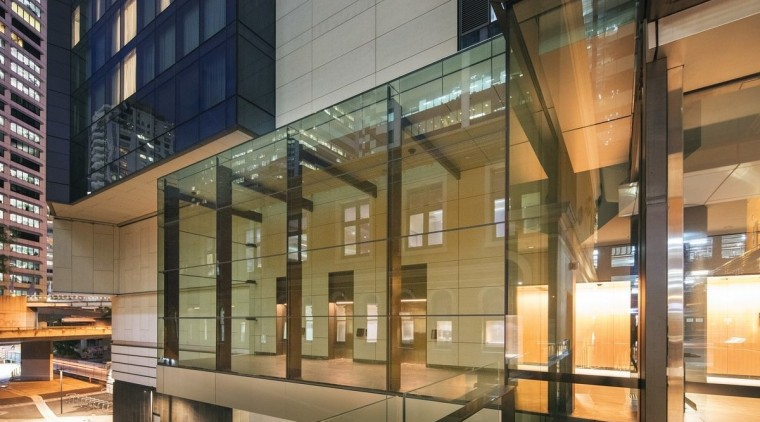 161 Sussex St – Cox Architecture architecture, building, condominium, facade, glass, lobby, mixed use, brown