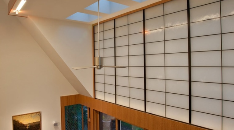 Photo by Jim Tetro architecture, ceiling, daylighting, house, interior design, loft, real estate, window, wood, brown