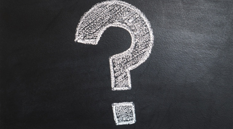 Got a burning question? black and white, font, monochrome, black