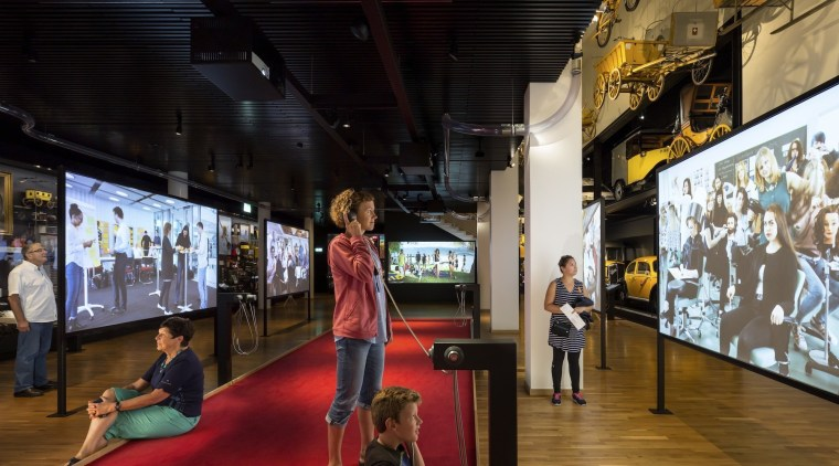 The new permanent exhibition at the Museum of exhibition, tourist attraction, black