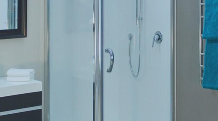 A solution to drier bathroom and healtheir home angle, plumbing fixture, shower, shower door, gray