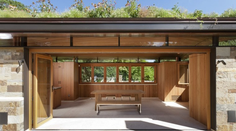Step inside, and you'll find several useful amenities architecture, house, brown