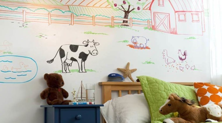 Read our tips to make life with kids home, interior design, nursery, product, room, wall, white
