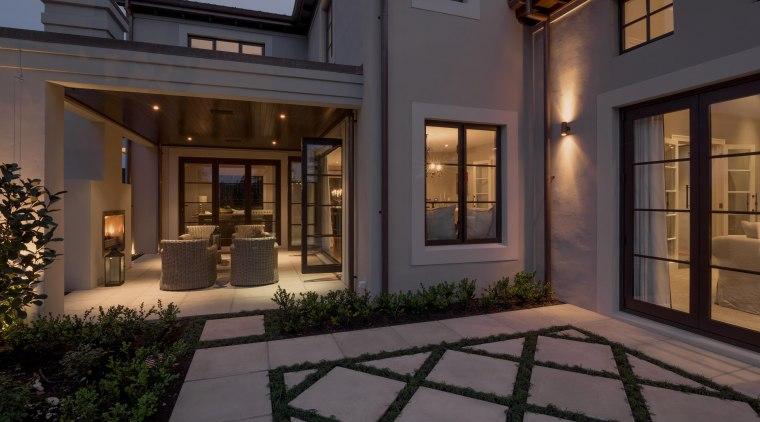 Img 0668 courtyard, estate, facade, home, house, interior design, lighting, lobby, property, real estate, window, black, gray
