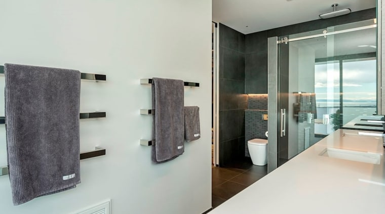 Registered Master Builders – House of the Year bathroom, interior design, product design, real estate, room, gray, white