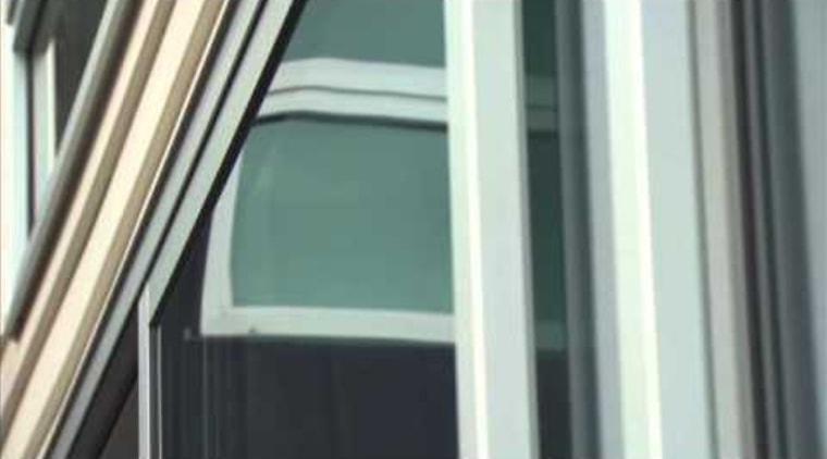 Eurostacker® and Euroslider® - video daylighting, glass, line, window, black, white