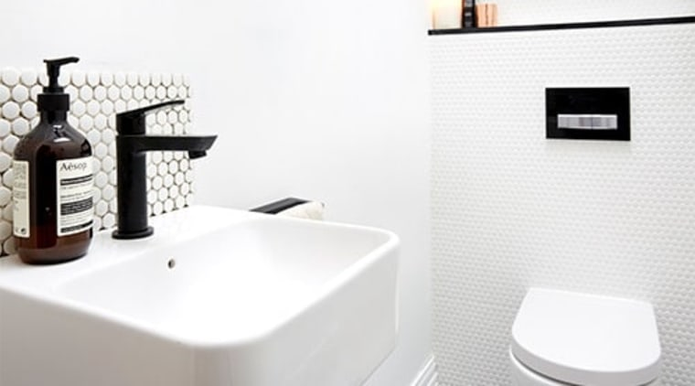 You can match the flushing mechanism to the bathroom, bathroom sink, ceramic, plumbing fixture, product, room, sink, tap, toilet seat, white