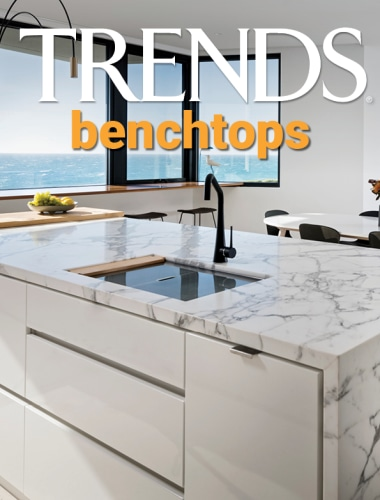 TRENDS MINI COVER 18 benchtops - architecture | architecture, cabinetry, countertop, design, drawer, font, furniture, home, interior design, kitchen, material property, product, property, real estate, room, tile, gray