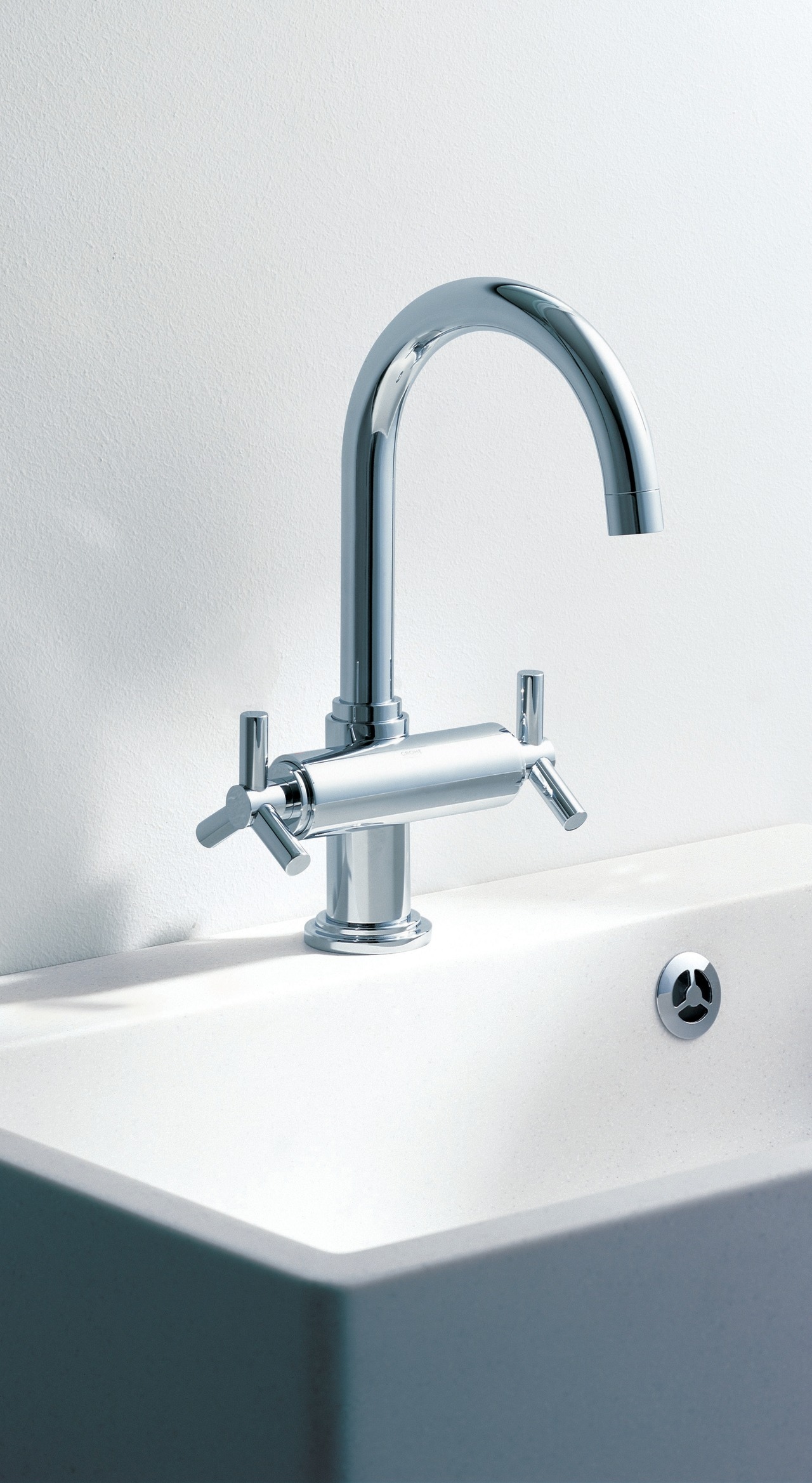 Accessory for the bathroom bathroom sink, plumbing fixture, product, product design, sink, tap, white