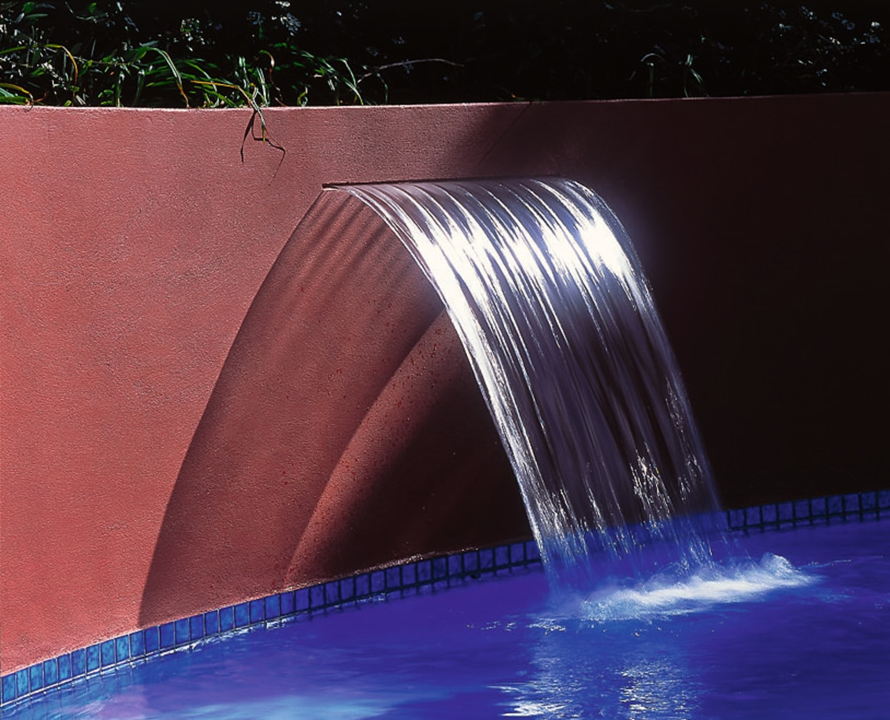 Inner view of the water feature light, lighting, reflection, water, water feature, water resources, black, red