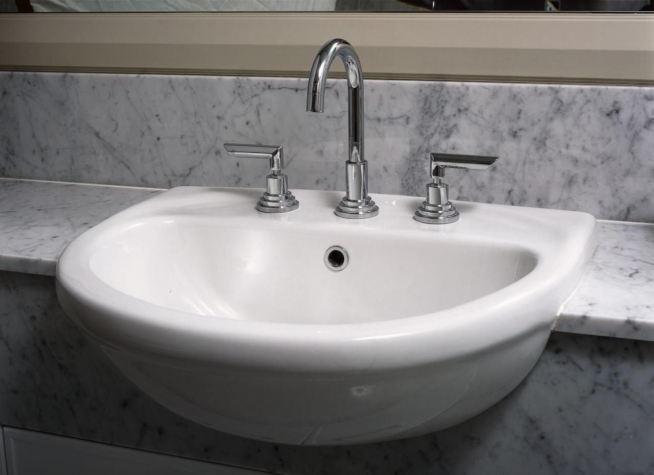 interior view and close up of the tap bathroom, bathroom sink, bathtub, bidet, ceramic, plumbing fixture, product design, sink, tap, gray, black