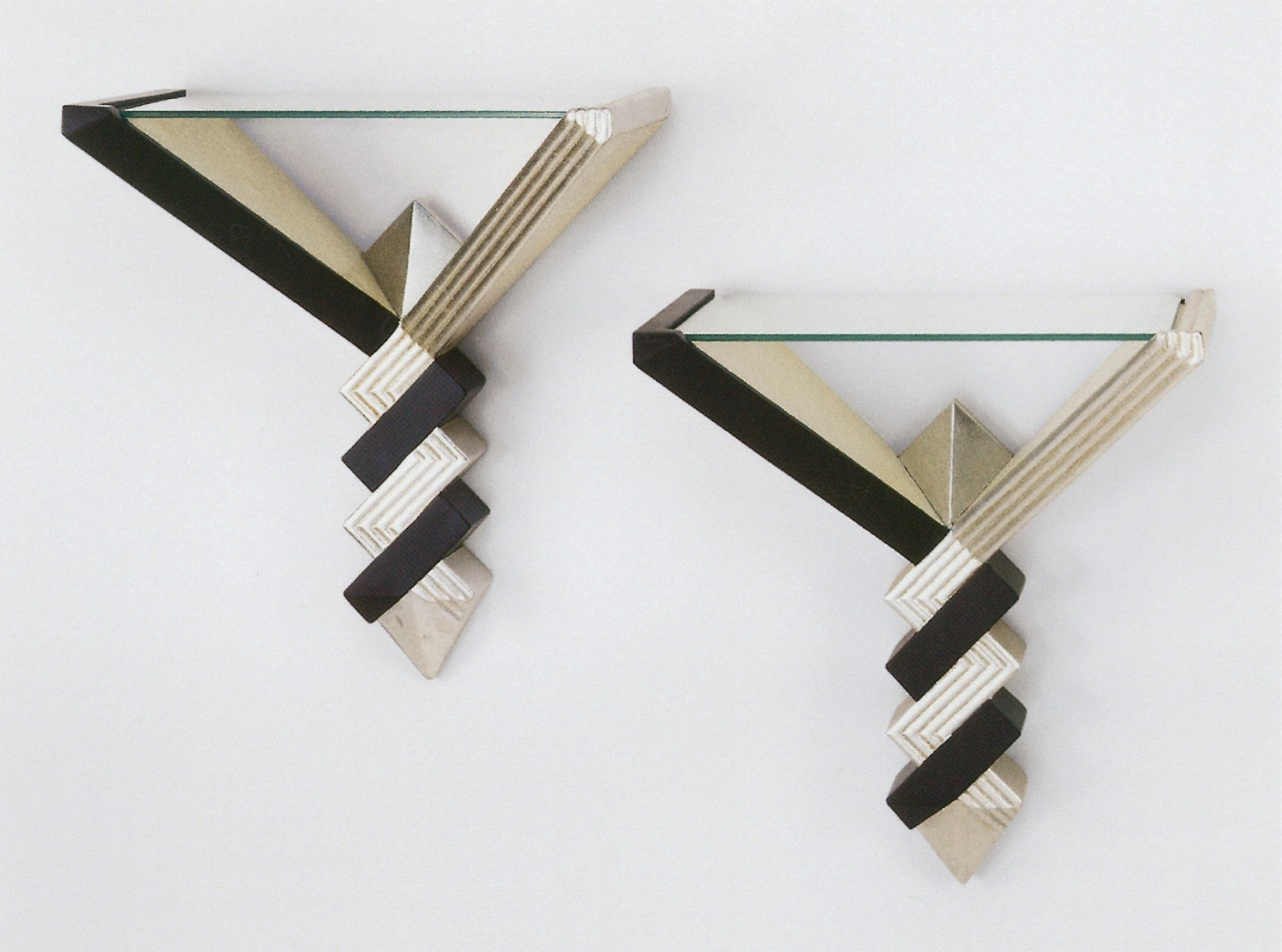 Wall objects clothes hanger, product design, wood, white