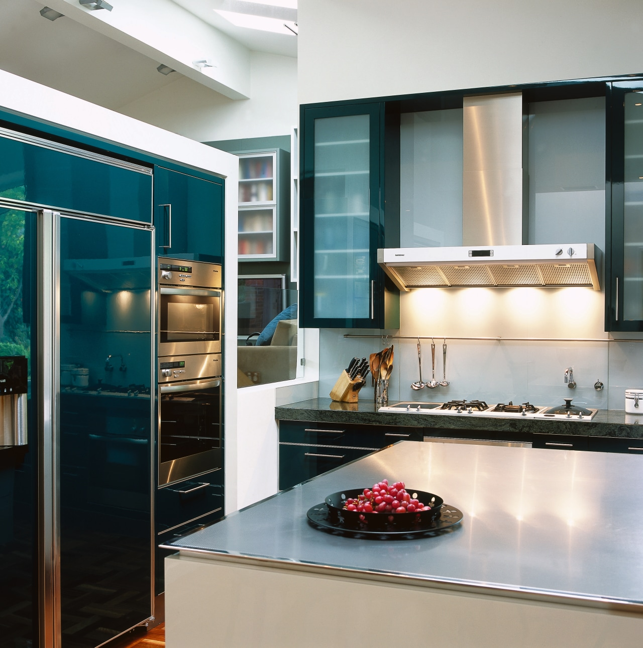 view of the food preparation area showing the cabinetry, countertop, home appliance, interior design, kitchen, room, gray