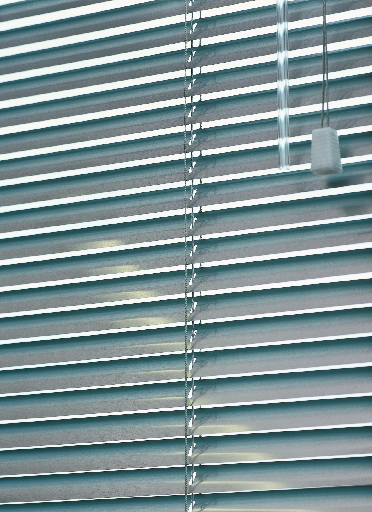 view of the uniline slimline venetian blinds architecture, daylighting, facade, line, mesh, metal, steel, window, window blind, window covering, gray, teal