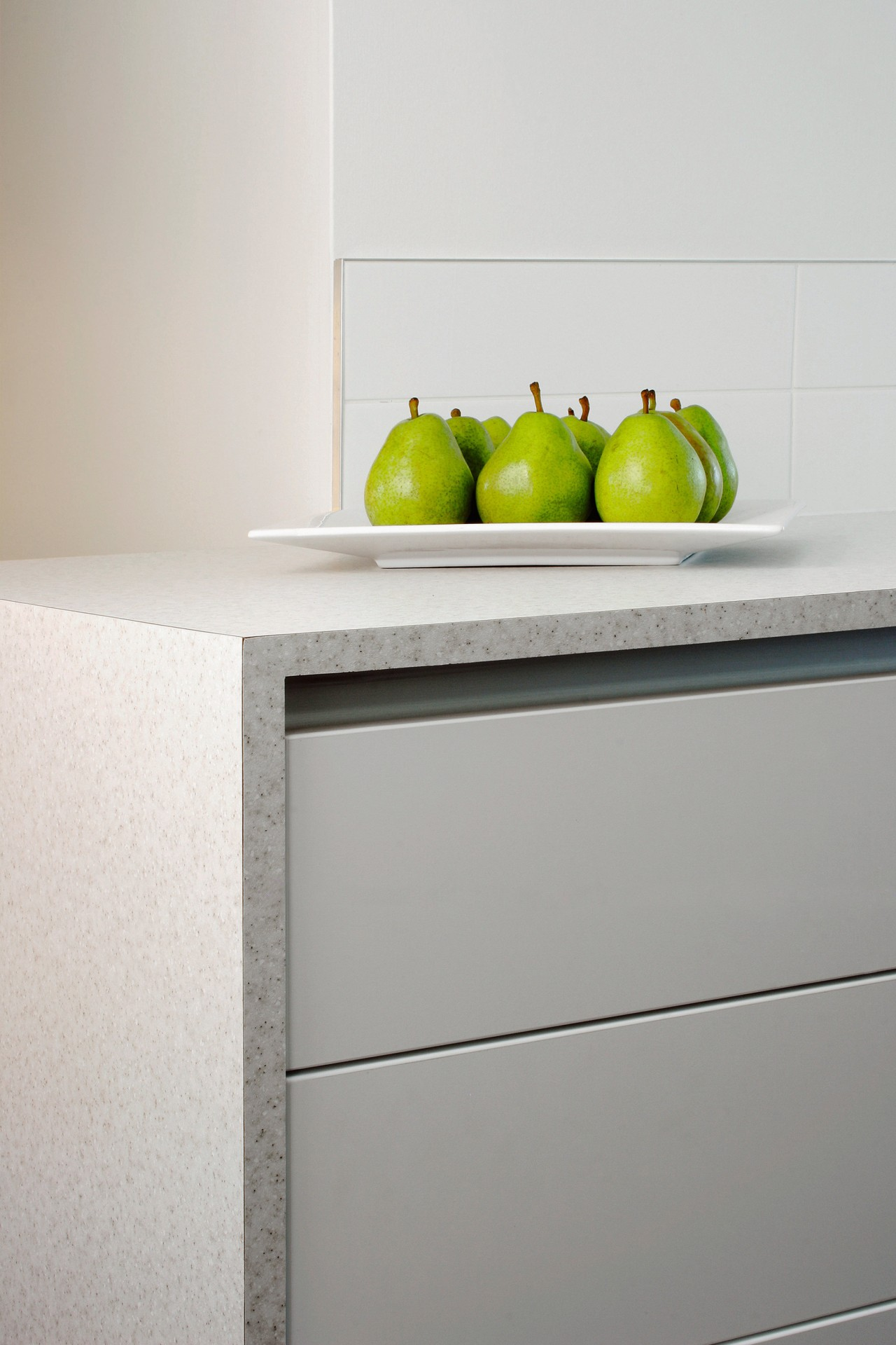 Examples of kitchens designed by Simply Kitchens to chest of drawers, drawer, furniture, product design, shelf, sideboard, table, gray