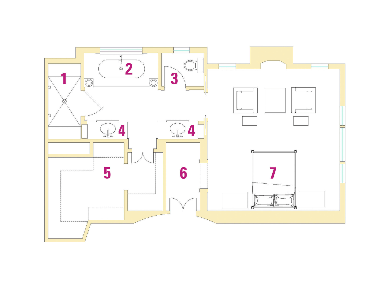 Legend Plan area, design, diagram, floor plan, line, plan, product design, property, real estate, text, white