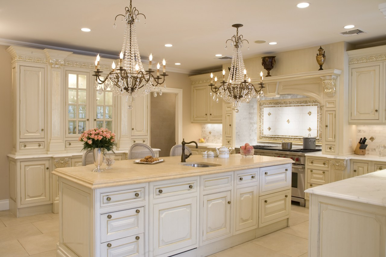 All that gliters- in this Clive Christian kitchen cabinetry, countertop, cuisine classique, home, interior design, kitchen, room, orange, gray