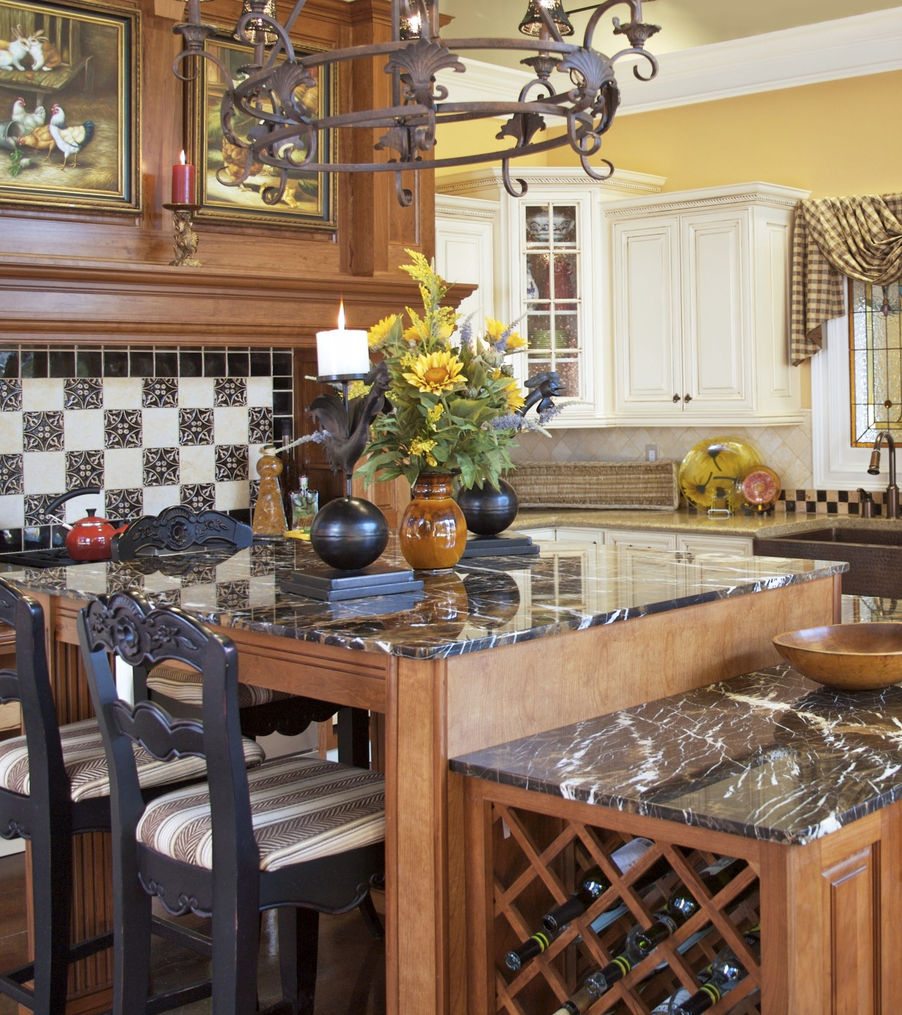 View of customised kitchens by Atlanta Kitchen and cabinetry, countertop, dining room, home, interior design, kitchen, room, table