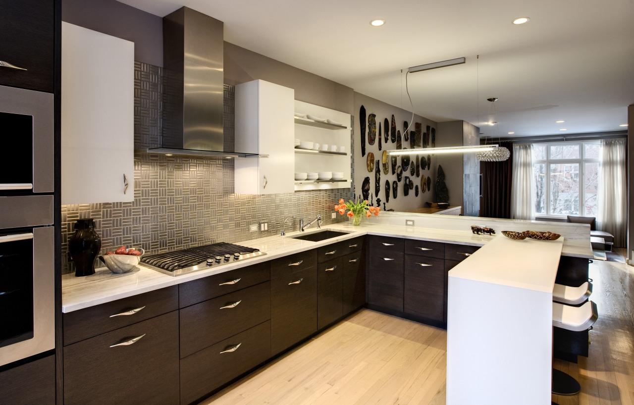 Dom Tech Australia imports the Candy 3 in cabinetry, countertop, cuisine classique, interior design, kitchen, room, gray, brown