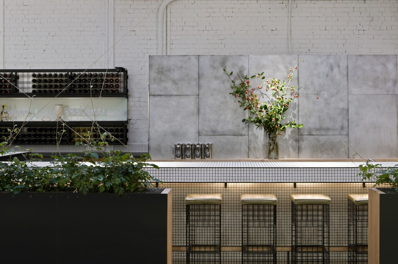 View of the St Judes Cellar bar and architecture, facade, home, house, plant, tree, wall, window, gray, black
