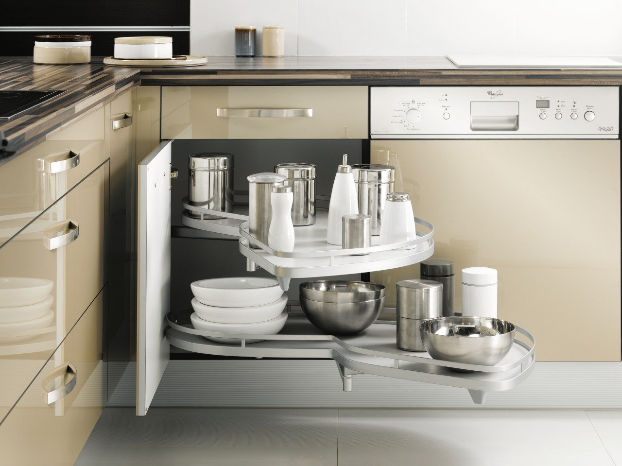 Good taste  Bold, daring designs emphasising vibrant countertop, furniture, home appliance, kitchen, kitchen appliance, kitchen stove, product design, sink, small appliance, tap, white