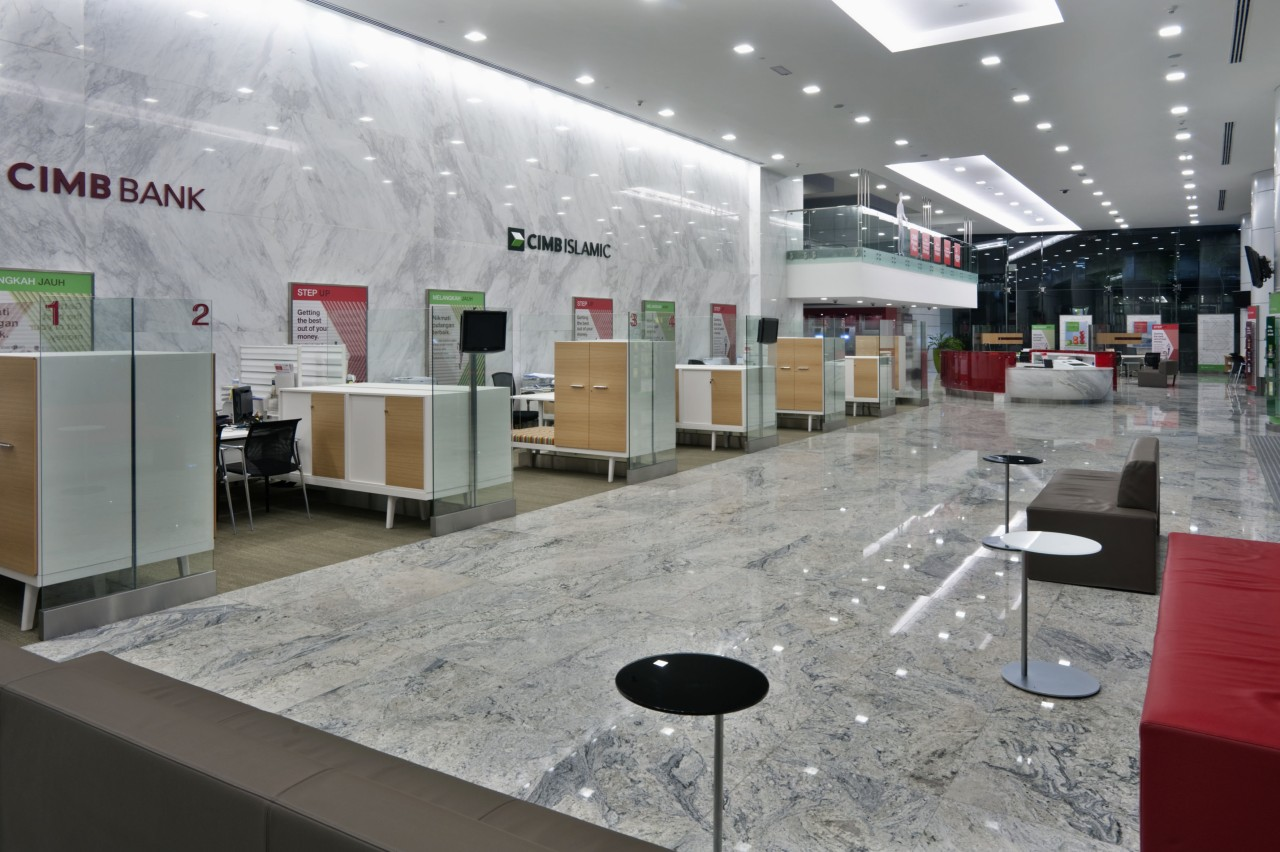 White marble was introduced for the flooring to interior design, product design, gray