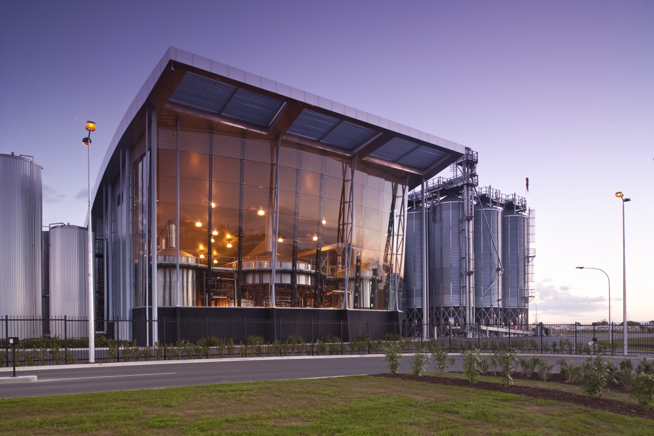 Lion's new HQ in South Auckland architecture, building, commercial building, corporate headquarters, facade, headquarters, mixed use, structure, purple