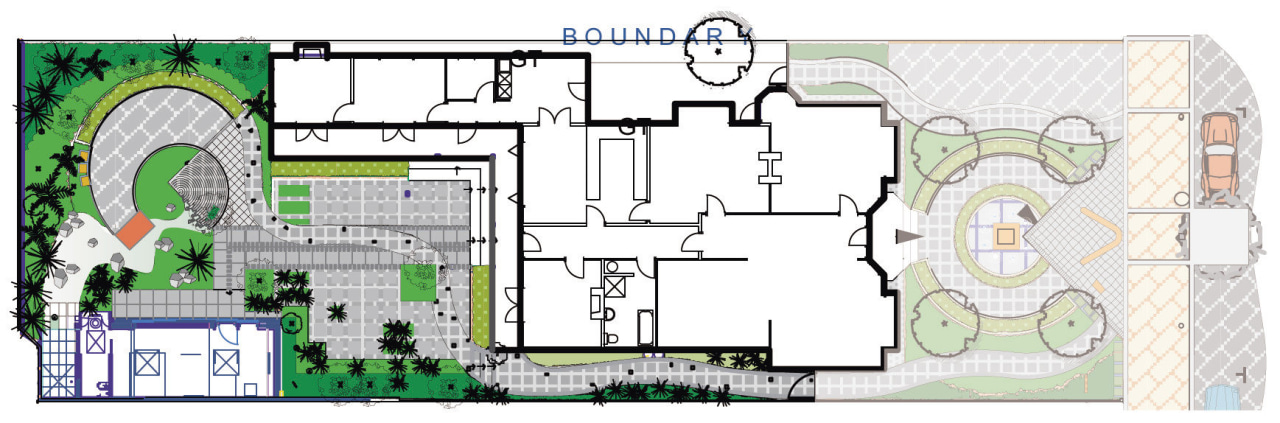 View of landscape architectural plans. architecture, area, floor plan, plan, residential area, urban design, white